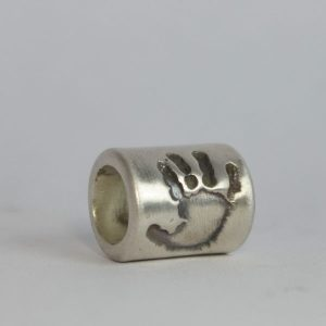 little, sprout, keepsake, jewellery, handprint, bead