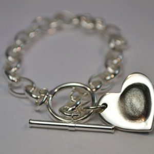 little, sprout, keepsake, jewellery, belcher, bracelet, silver, fingerprint