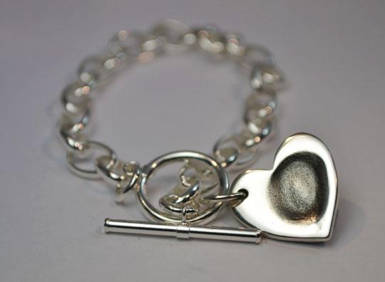 little, sprout, keepsake, jewellery, belcher, bracelet, silver, fingerprint